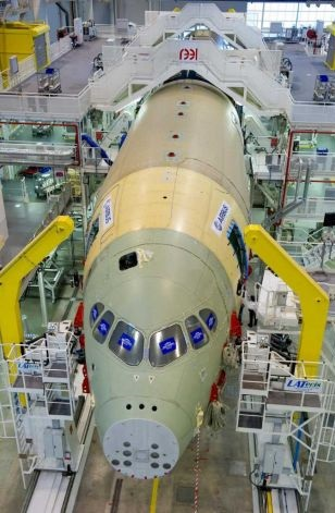 Airbus A350 assembly 3