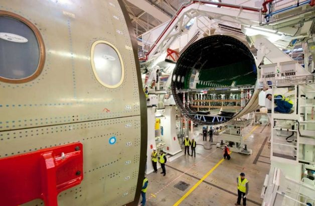 Airbus A350 assembly 4
