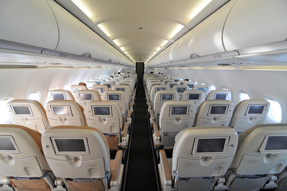 Airbus A320 Interior - Modern Airliners