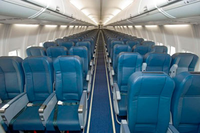 Boeing 737 Interior - Modern Airliners
