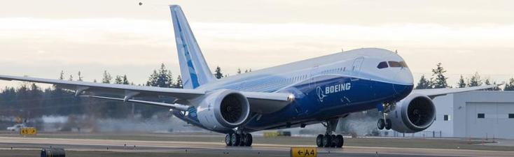 Boeing 787 8 maiden flight