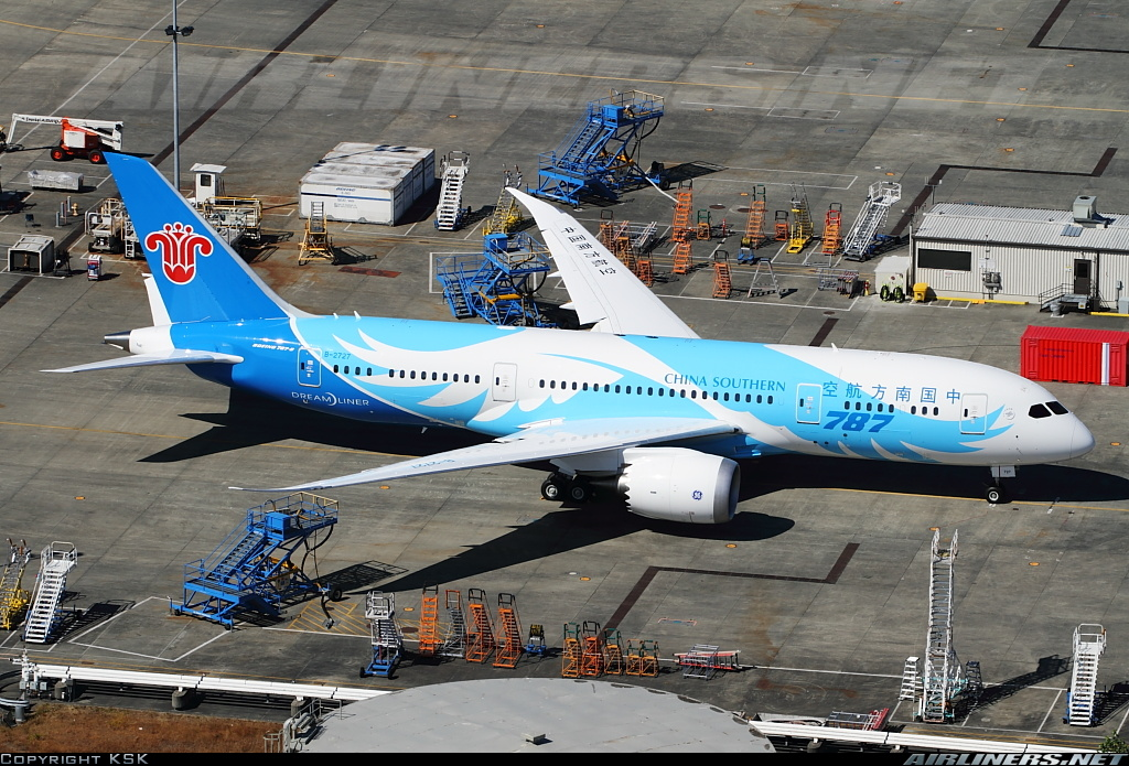Boeing 787 China Southern