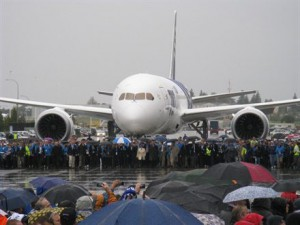 Boeing 787 delivery to ANA