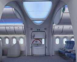 Boeing 787 Dreamliner Interior Modern Airliners