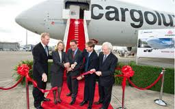 Cargolux first 747-8 delivery