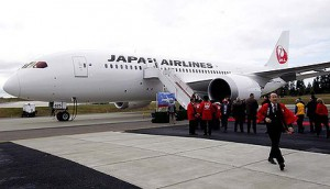 Japan-Airlines 787-Dreamliner Delivery