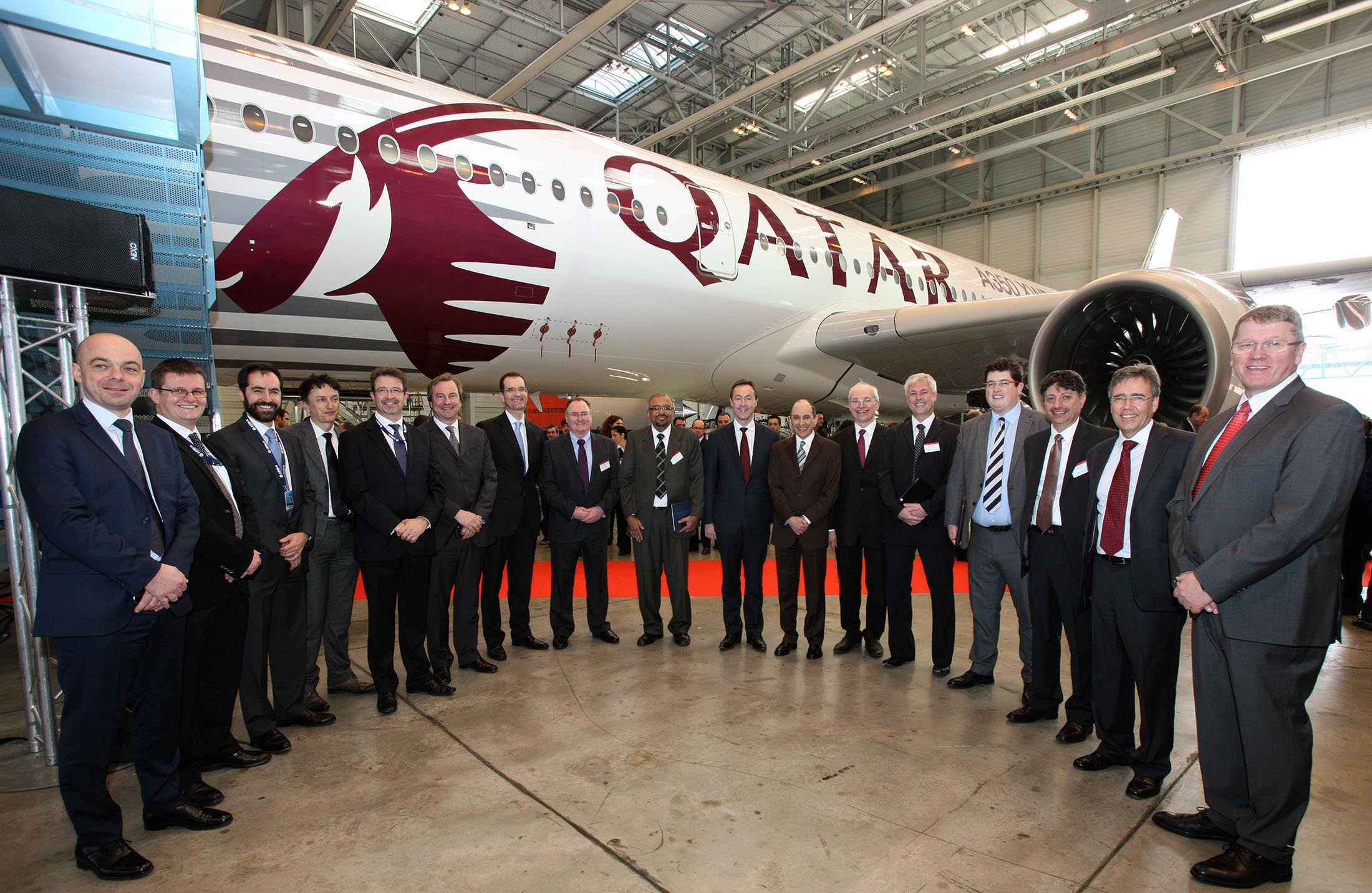 Qatar management with A350