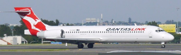 Boeing 717 23S Registration VH-NXE owned by QANTASLink