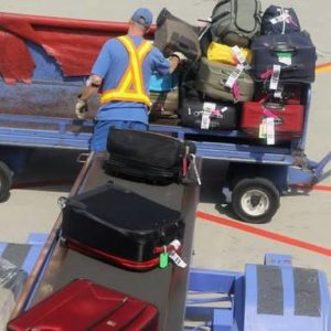 Checked in luggage is becoming less common as travellers try to make use of the free carry on option.