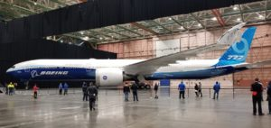 Boeing 777x Roll out