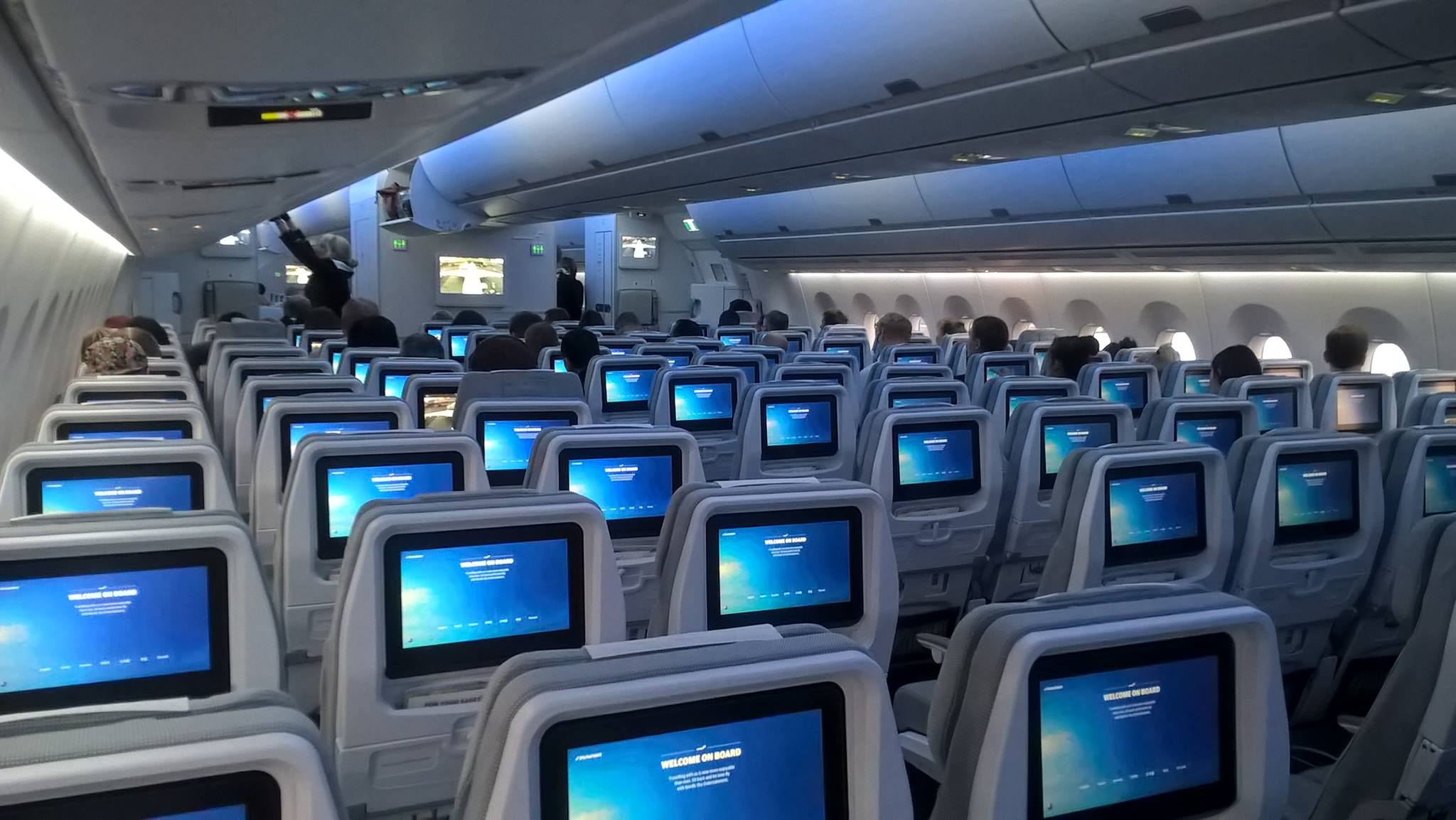 Finnair's A350 cabin interior