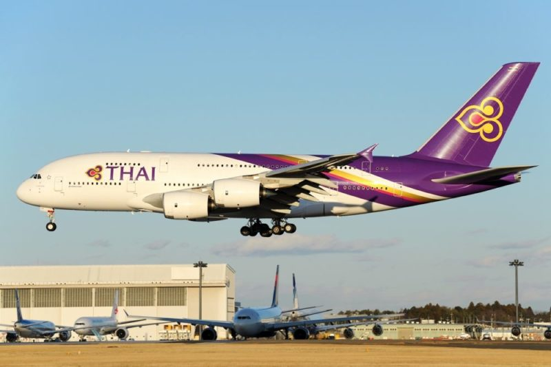 Airbus A380-841, Thai Airways International