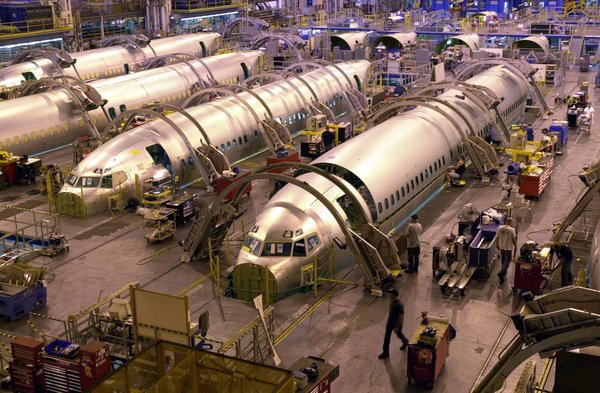 Boeing 737 Fuselage assembly Witchita