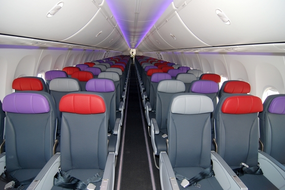 Boeing 737 Virgin Australia interior