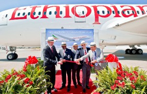 Ethiopia Airlines take delivery of their 1st 787