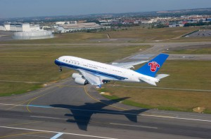 China Southern A380 Delilvery