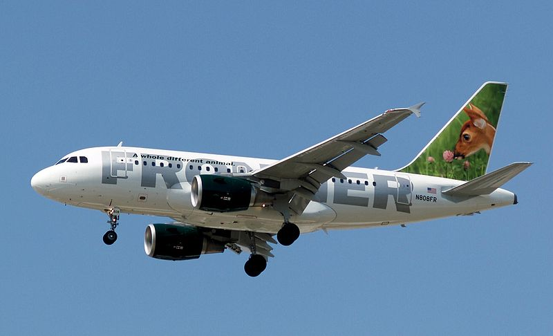 Frontier_Airlines_Fawn_Airbus_A318-111