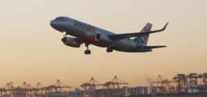 Jetstar Airbus A320 with Sharklets