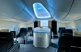 Lufthansa 787-8I First class section