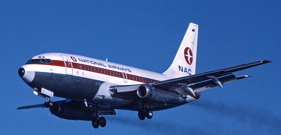 NAC-Boeing-737-219 on aproach