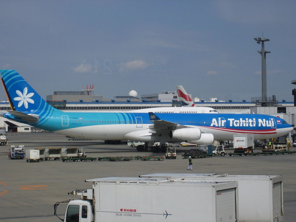 Airbus A340 313 of Air Tahiti Nui