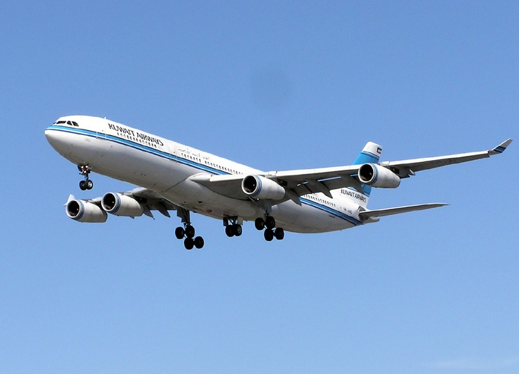 Kuwait Airways A340 300