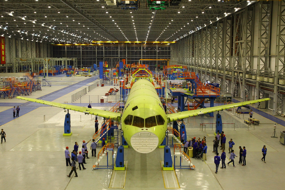 COMAC C919 Construction