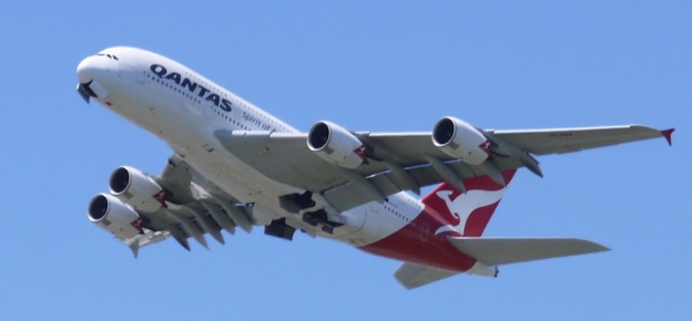 QANTAS Airbus A380 842 Named Nancy Bird Walton