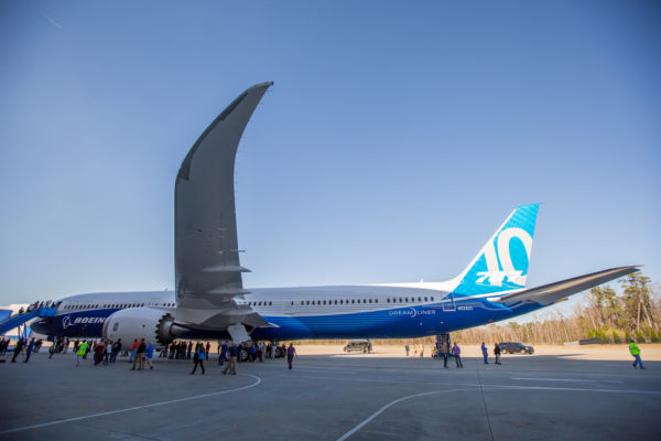 Boeing 787-10 rollout
