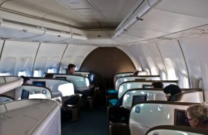 Air New Zealand Business Premier 747_cabin