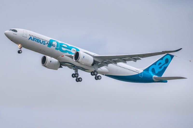 First flight of A330-900neo on 19 October 2017