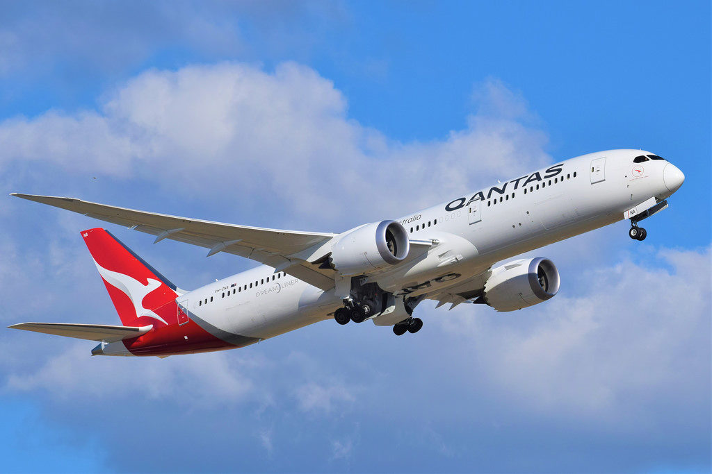 The QANTAS Boeing 787_9 Dreamliner is pivotal in Project Sunrise, bringing more of the world into the non-stop flight umbrella.