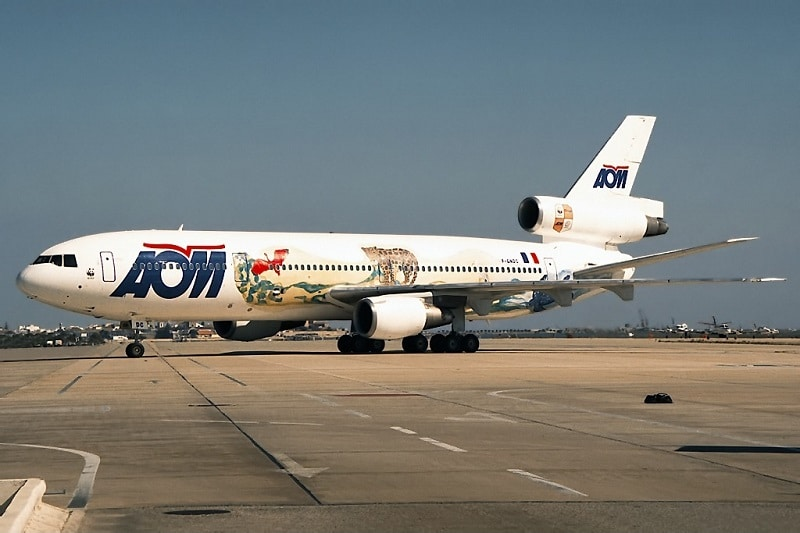 McDonnell Douglas DC-10-30, AOM French Airlines.