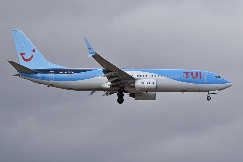Boeing MAX 737-8K5 'G-FDZW' TUI Airways