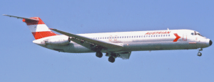 Austrian Airlines DC-9-51; OE-LDL, April 1981