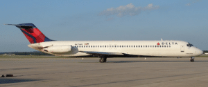 Delta McDonnell Douglas DC-9-50, the longest of the DC-9 series.