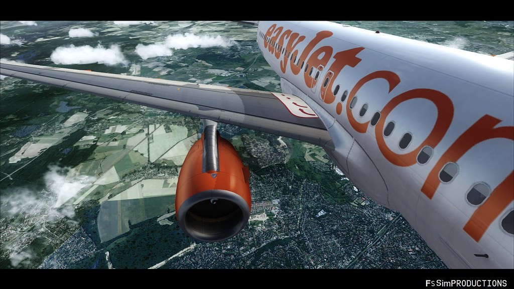 Flight Simulator Airbus A320 easyjet FSX
