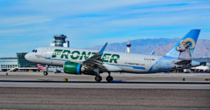 N323FR Frontier Airlines Airbus A320-251N Colorado The Bighorn Sheep