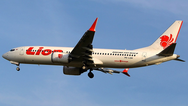 Boeing 737 MAX 8 PK-LQH of Lion Air