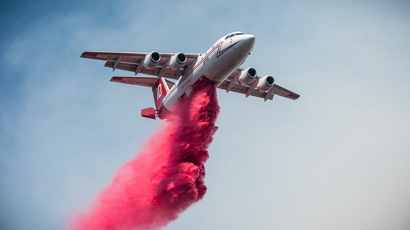BAe 146 aerial fire airplane