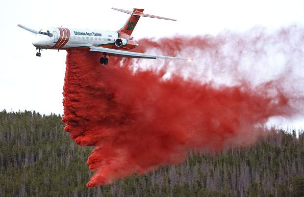 Fire Fighting Airplanes like this converted DC-9 are a big part of our fire fighting effort.