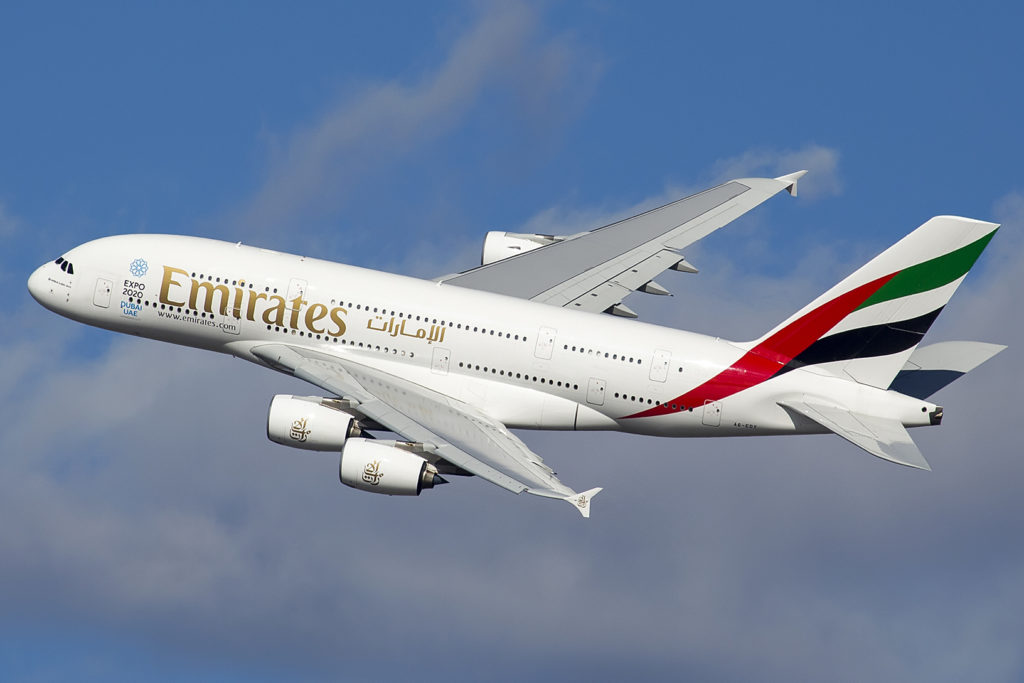 Emirates is the largest operator of the Airbus A380 and the recipient of the last A380 made.