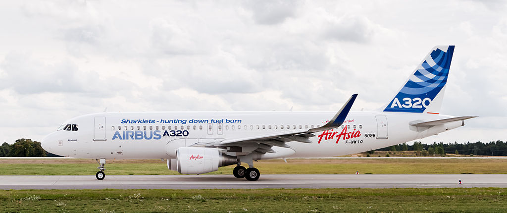 In 2009, Airbus introduced the Sharklet to add more aerodynamic efficiency to its wing.